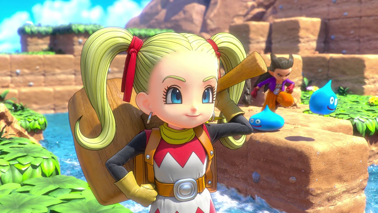 "DRAGON QUEST BUILDERS 2 – ""Opening Movie"" (Girl Builder)"