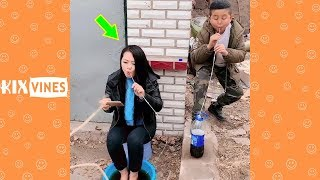 Funny videos 2019 ✦ Funny pranks try not to laugh challenge P91