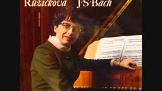 J.S.Bach Partita No.3 in A minor, BWV 827, Růžičková