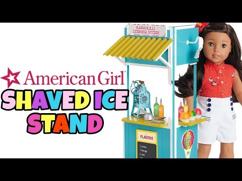 American Girl Doll Shave Ice Stand NEW