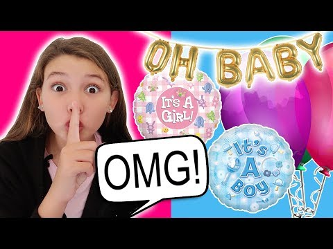 REVEALING THE BAS GENDER TO OUR FAMILY!