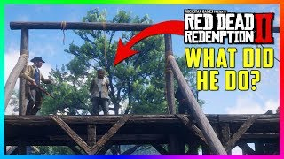You WON'T Believe What This Criminal Did & Why He's Being Hanged In Red Dead Redemption 2! (RDR2)