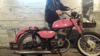 Мотоцикл минск с зажиганием от скутера