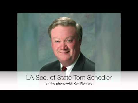 Tom Schedler Presidential Primary
