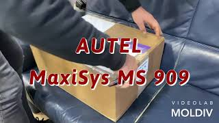 Autel MaxiSys MS909 / unboxing The last 2020 from Autel