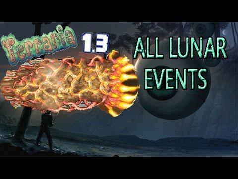 Terraria 1.3 Expert Solar, Nebula, Vortex & Stardust Events!