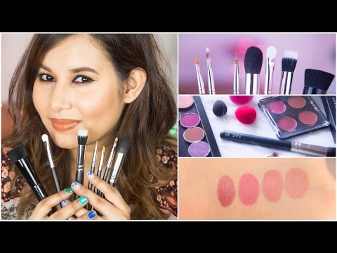 P.A.C. Cosmetics Makeup & Brushes Haul | Sonal Sagaraya
