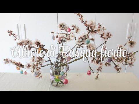 Albero di pasqua fiorito idea decorazioni tutorial pasqua fai da te shabby chic youtube - Pasqua decorazioni fai da te ...