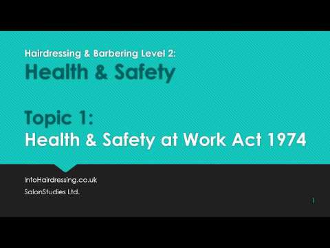 Health & Safety at Work Act 1974 - Part 1