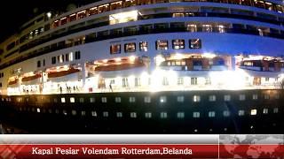 Super Horn Klakson Kapal Pesiar Volendam Belanda