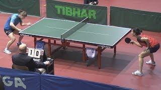 Olga GORDEEVA Vs Valentina SABITOVA FULL Moscow Championships 2014 Table Tennis Table Tennis