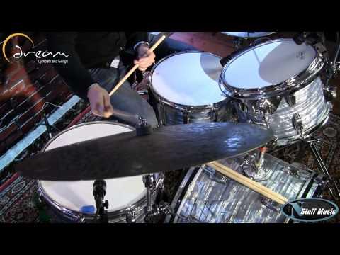 "Dream Cymbals Dark Matter 22"" Flat Earth Ride - DMFE22 thumbnail"