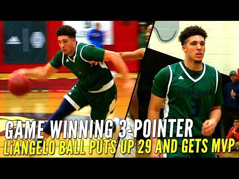 Chino Hills Beats Long Beach Poly On LiAngelo Ball's GAME WINNING 3-Pointer!!