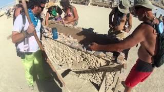 Burning Man 2012: Temple of Juno GoPro walkthrough