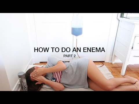 HOW TO DO A COFFEE ENEMA  |  PART 2