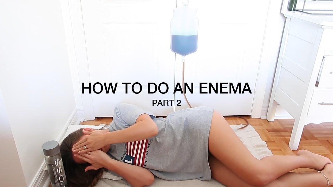 Enema Homemade Video