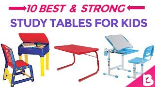 10 Best Study Tables for Kids in India with Price | Multifunctional Children Study Desk‎ & chair