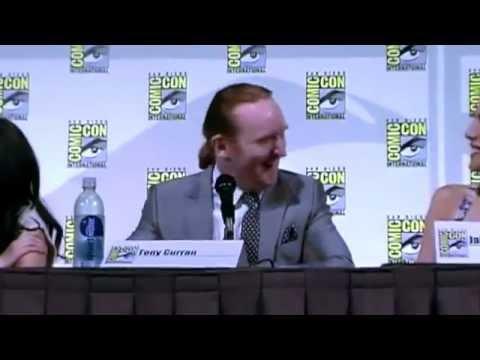 Tony Curran, Datak & Scottish Accents  Defiance San Diego Comic Con 2013