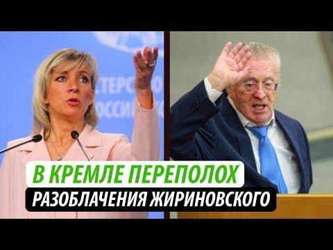 В Кремле переполох. Разоблачения Жириновского