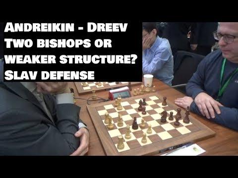 Andreikin - Dreev | Black Doesn't Allow White Stabilise | Slav Defense