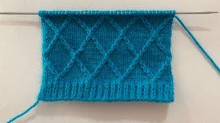 Very Beautiful Knitting Stitch…