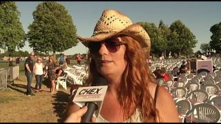 CHEX Television - Kiefer Sutherland Band at Peterborough Musicfest