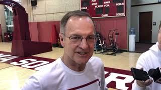 OU Basketball - Bedlam: Lon Kruger
