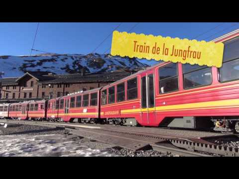 Jungfrau - Top of Europe - Trains Suisse