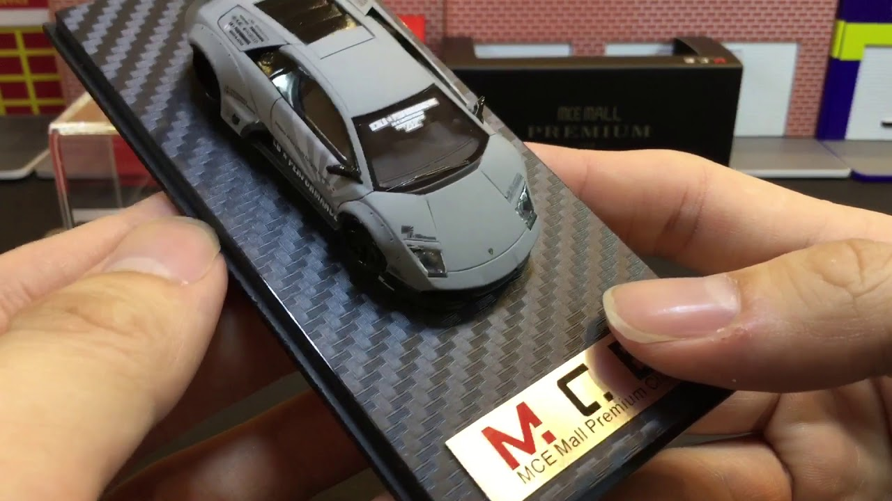 LB Performance Premium Collection 1:64 Lamborghini Hurcan LB Works Liberty Walk