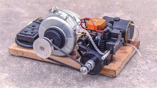 Chế tạo Máy phát điện 220V dùng động cơ RC