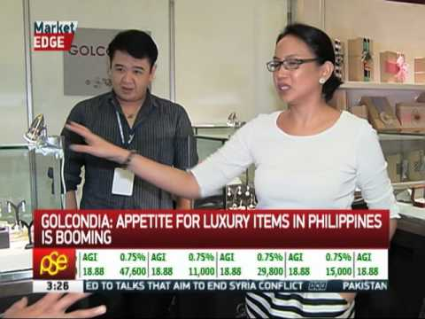 'Appetite for luxury items in Philippines is booming'