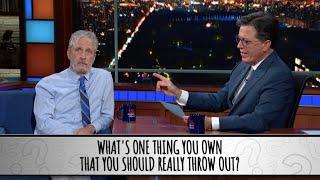 Part 1 - Jon Stewart Takes The Colbert Questionert