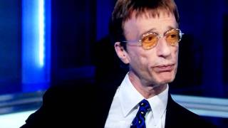Sky News HD Robin Gibb interview FAIL - asked about dead brother Maurice