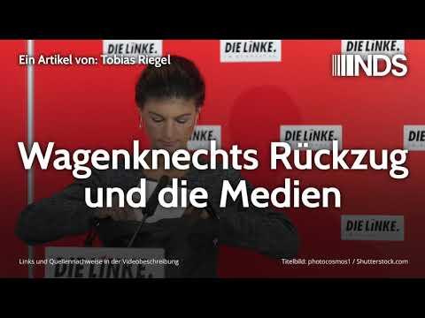 Wagenknechts Rückzug und die Medien | Tobias Riegel | NachDenkSeiten-Podcast