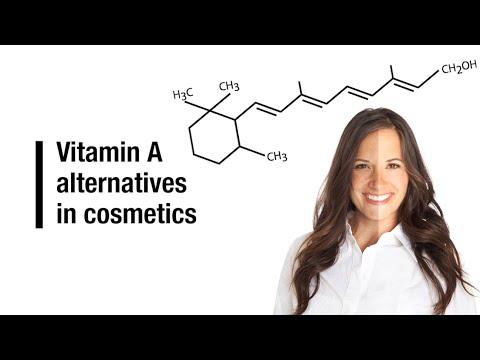 Vitamin A alternatives in cosmetics