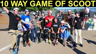 10 Way Pro Game Of Scoot!