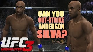CAN YOU OUT-STRIKE ANDERSON SILVA?? - UFC Undisputed 3!