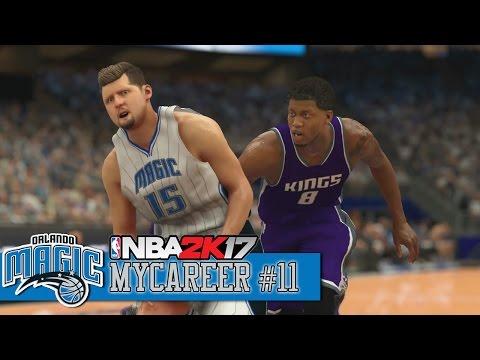 NBA 2K17 MyCareer #11 | Year 1 Game 5 - Sacramento Kings vs Orlando Magic