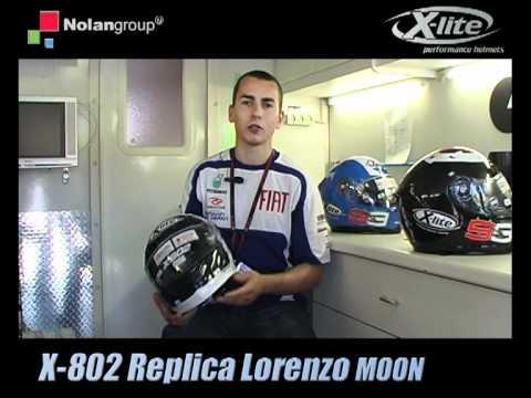 LORENZO presenta il suo X-lite X-802