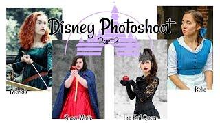 Disney Photoshoot | Behind the Scenes | Part 2