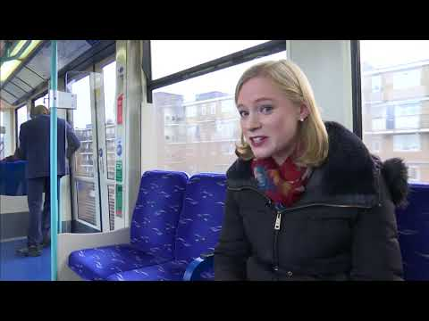 'Mr Smooth' DLR train announcer with Barry White voice - Lorna Shaddick