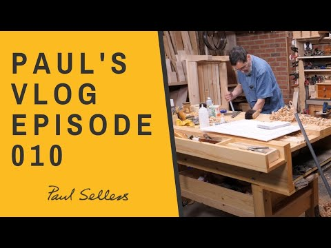 From Woodland To Workshop - Randomness To Symmetry & Order | Paul Sellers' Vlog 010