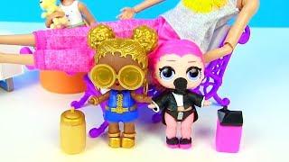 Братик Супергерой для Куклы Лол Сюрприз! Мультик Lol Families Surprise Dolls Видео для детей