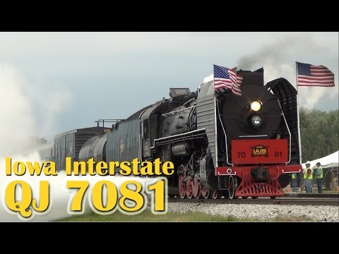 QJ 7081: Summertime Excursions on the Iowa Interstate