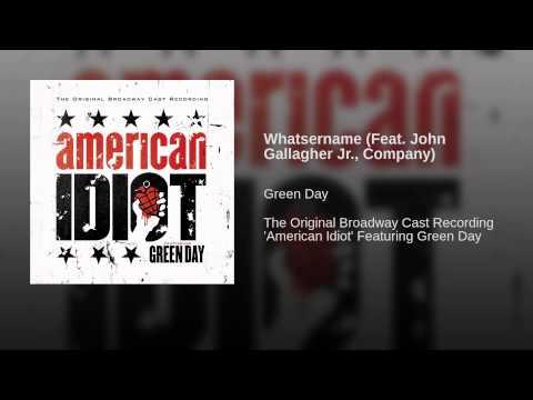 Whatsername Feat John Gallagher Jr, Company