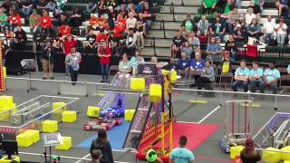 2018 FRC Power Up 5417 Allen Houston Lonestar Central Regional Week 3 Qm-#76 qm#76 #2018txho