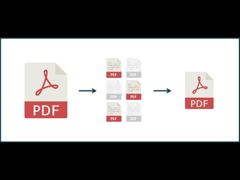 How To Extract Pdf Pages | How To Split PDF Document  Free | Cutepdf Editor Online