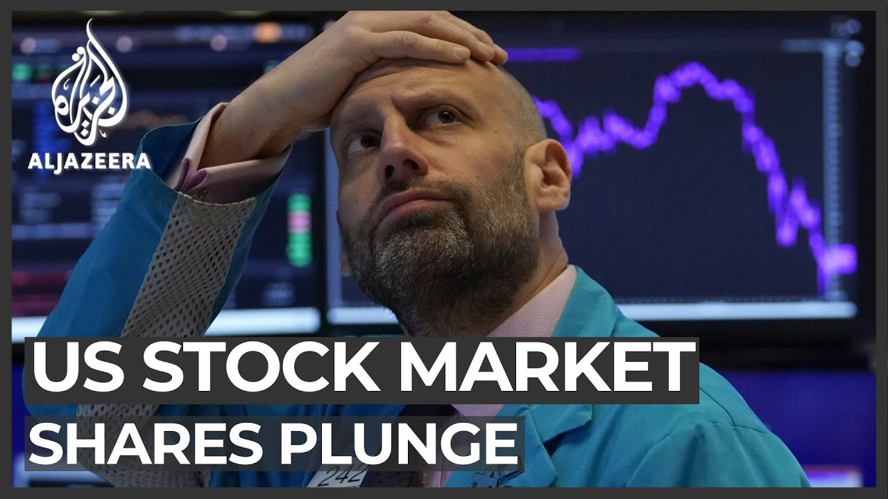 Dow falls 2000 points on the markets' worst day since 2008