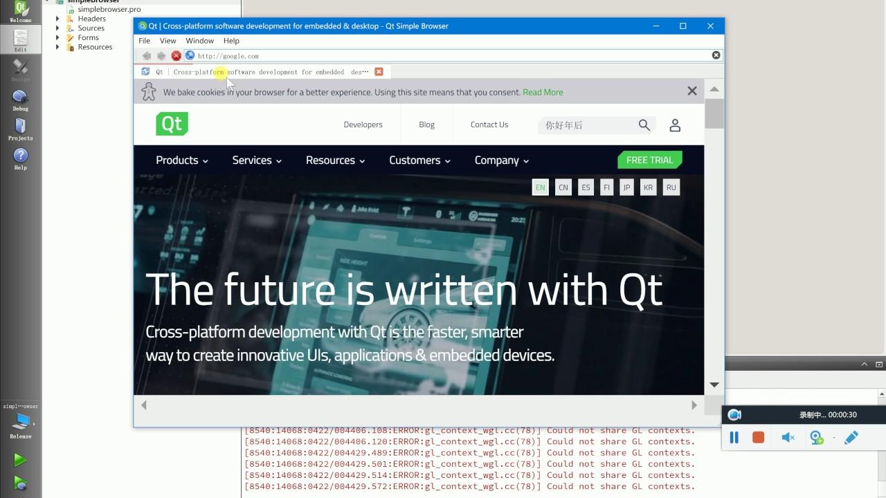 Qt website - Bitcoin show all addresses