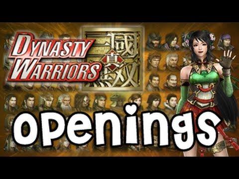 Dynasty Warriors All Openings V1